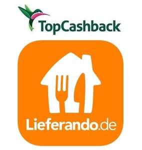 [TopCashback] Lieferando 31% Cashback auf jede Bestellung