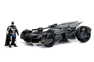 Jada Toys Justice League Batmobil, hochdetailiertes 1:24 Modellauto inkl. Batman-Figur für 17,19€ (Amazon Prime)