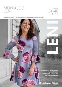 [GRATIS Schnittmuster] Makerist kostenloses E-Book für ein Damenkleid Gr. 34-46