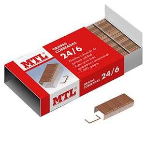 MTL 79180 – Pack von 1000 Heftklammern Verkupfert Cobreada (Prime)