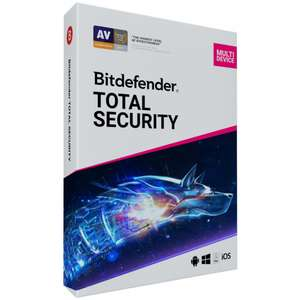 """Bitdefender Total Security 180 Tage kostenlos testen (für """"Neukunden"""")"""