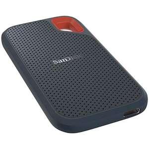 SanDisk Extreme Portable SSD 2TB (~560MB/s Lesen & ~520MB/s Schreiben, USB-C 3.1 Gen2 + USB-A-Adapter, IP55) für 171,80€ (Amazon ES)