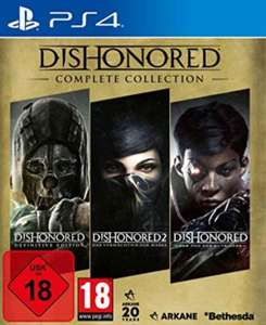 (Saturn/MediaMarkt) Dishonored - Complete Collection [PlayStation 4/PS4] 14,98€