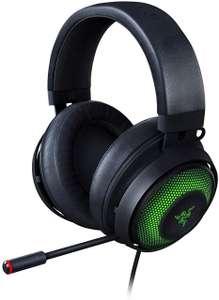 Razer Kraken Ultimate 7.1 Surround USB-Gaming-Headset (THX Spatial Audio, Noise Cancelling Mic, kabelgebunden, Kühlpads)