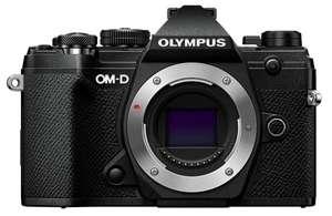 Olympus E-M5 Mark 3 mit Griff und 25mm 1.8 Objektiv