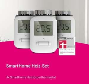 Smart Home Angebot: 3 Heizkörperthermostate