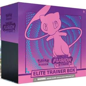 Pokémon Schwert und Schild 08 Fusionsangriff Top Trainer Box vorbestellen