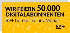 Rheinische Post + Dauerhaft für 5 Euro anstatt 7,99 Euro