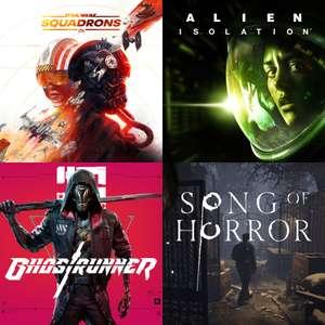 Prime Gaming Oktober | z.B: Star Wars Squadrons, Alien Isolation, Ghostrunner & Mehr - Vollständig Kostenlos (01.10 - 31.10)