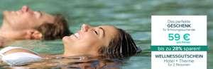 Wellnessgutschein für Hotel & Therme für 2 Personen via Travelcircus