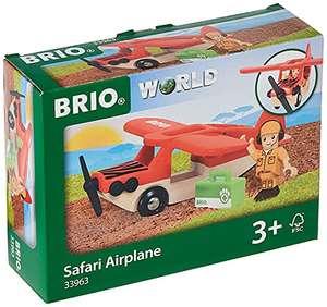 BRIO Safari Flugzeug (33963) für 11,99€ (Amazon Prime & Media Markt Abholung)