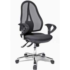 [staples.de] Bürostuhl/Schreibtischstuhl/Drehstuhl Topstar Open Point SY Deluxe Mesh Schwarz