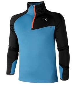 DIADORA Warm Up Winter Longsleeve blue aqua Herren (Gr. S - XXL)