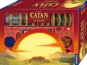 Vorbestellung: Brettspiel Siedler von Catan 3D Edition