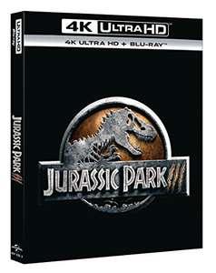 Jurassic Park 3 (4K Blu-ray + Blu-ray) für 6,13€ (Amazon Prime)
