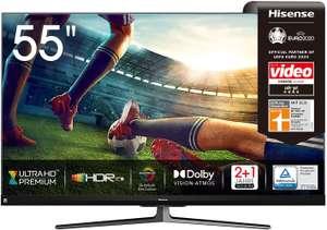 Hisense 55U8QF QLED 139cm (55 Zoll) Fernseher