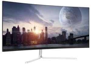 "LC-Power LC-M34-UWQHD-100-C-V2 Gaming Curved 34"" 86,36cm 3440x1440 DisplayPort 1.2 HDMI 1.4 2xHDMI 2.0 für 329€ inkl. Versandkosten"