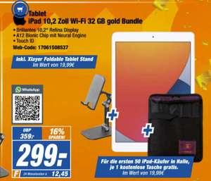 [Expert] Apple iPad 10,2 Zoll Wi-Fi 32 GB gold (MYLC2FD/A, 2020, 8. Generation) für 299,-€