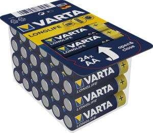 "Herkules E Center: nur noch am 24.09/25.09. 24 Stück Varta Longlife ""Power"" AA/AAA Batterien ( Mignon und Micro)"