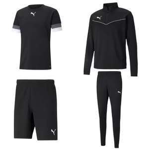 4-tlg. Puma Rise Trainingsset mit Trikot, Shorts, Trainingshose & Trainingsoberteil in versch. Farben (Gr. S - XXL)