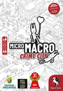 PEGASUS MicroMacro: Crime City + Dragomino Brettspiel + Kingdomino Spiel des Jahres 2017 Brettspiel für 39,99€ (Saturn Abholung)