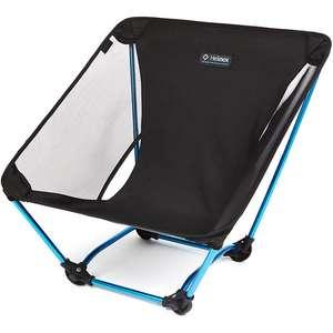 Helinox Ground Chair schwarz/türkis (black/blue)