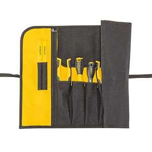 [Amazon Prime] Stanley Rolltasche (Cordura-Nylon, 12 Fächer, inkl. großer Dokumententasche und Stifthalter, unbestückt)