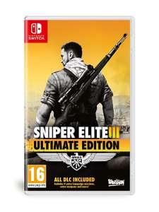 Sniper Elite 3 Ultimate Edition (Switch) für 24,15€ (Amazon FR)