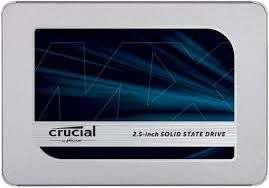 CRUCIAL MX500 Festplatte, 2 TB SSD, Interner Speicher SATA 6 Gbps, 2,5 Zoll, intern