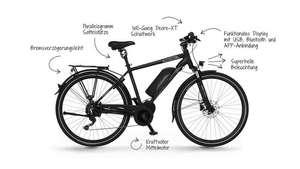 Bestpreis! Fischer ETH 1861.1 (2021) Trekking Pedelec/E-Bike mit 48V Bafang Mittelmotor + 557Wh Akku