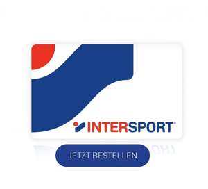 Intersport Gutscheinkarten, 100€ für 85€, 50€ für 45€