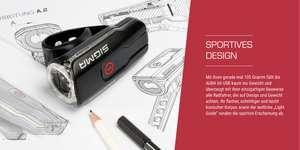 SIGMA Fahrradbeleuchtung AURA 60 USB, Frontlicht, StVZO zugelassen, wasserdicht, USB wiederaufladbar *bester Preis*