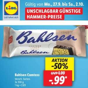 Bahlsen Comtess vers. Sorten Rührkuchen (99 Cent/350g)