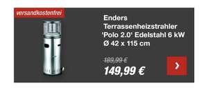 Enders Terassenheizstrahler Polo 2.0 am 26.09