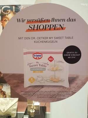 Douglas ab 29€ Dr. Oetker Kuchenkugeln gratis [Bundesweit in den Filialen]