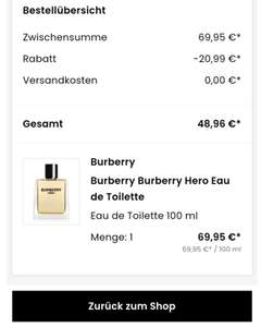Burberry Hero Eau de Toilette 100ml (flaconi)