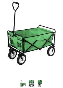 Bollerwagen faltbar, grün, 15% Flashsale bei Mytoys