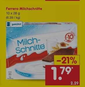 Netto MD Ferrero 10er Milchschnitte