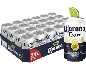 Corona Extra Premium Lager Dosenbier, EINWEG (24 X 0.33 L), Internationales Lager Bier