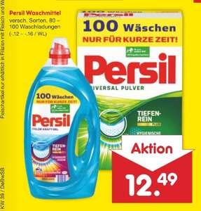 Netto MD Persil 100 Waschladungen