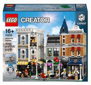 LEGO Creator Expert - Stadtleben (10255) für 199€ & LEGO Krokodil Lokomotive 1271 Teile (10277) für 79,95€ (Müller)