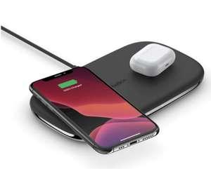 Belkin TrueFreedom PRO Dual Qi-Ladepad (2 Geräte bei freier Platzierung auf der gesamten Fläche gleichzeitig laden mit je bis zu 10W)