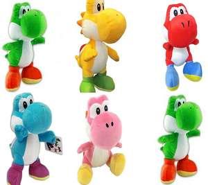 Nintendo Plüsch Yoshi 17cm, in verschiedenen Farben für je 12,74€ (Müller Abholung)
