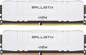 Crucial Ballistix weiß DIMM Kit 16GB, DDR4-3600, CL16-18-18-38 (BL2K8G36C16U4W)