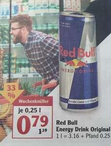 (Globus Lahnstein) RED BULL 250ml für 0.79€ zzgl. Pfand