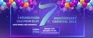 Sieben Jahre Sourcemore 10% auf Alles* und Flash Sale