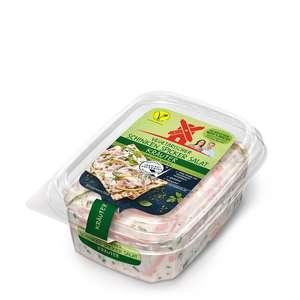 Tegut: Rügenwalder Mühle vegetarischer Schinkenspicker Salat mit und ohne Kräuter im 150g Becher ab 27.09.