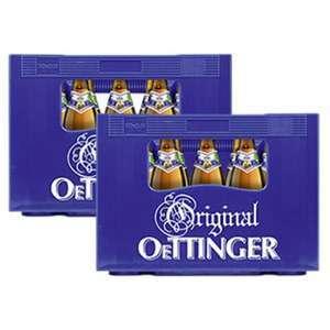 2 Kästen Oettinger Pils ( 40 x 0,5l ) für 9,60 Euro [ Norma - Mittel- / Süddeutschland ]