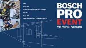 Bosch Professional kostenloses Hochleistungszubehör für die ersten 10.000 Registrierungen