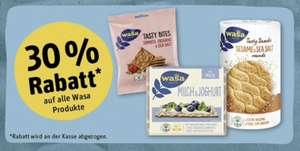 Rewe - 30% Rabatt auf alle Wasa Produkte